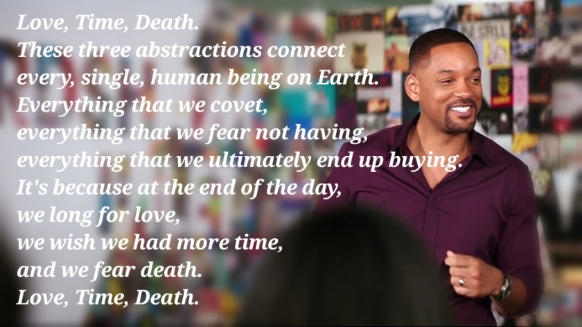 Love Time Death The Quotes