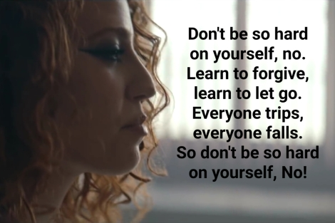 Don't be so hard on yourself. – theQuotes.me