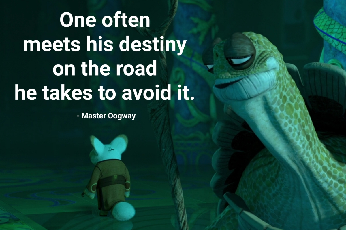 Master Oogway Quotes Thequotes Me